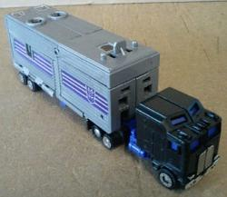 80s Transformers G1 Motormaster Truck from the Stunticon range