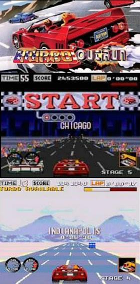 Turbo OutRun Sega Mega Drive/Genesis Screenshots