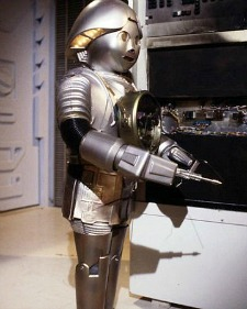 Twiki the robot in Buck Rogers