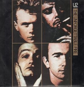 U2 The Unforgettable Fire single