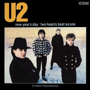 U2 New Years Day vinyl sleeve US