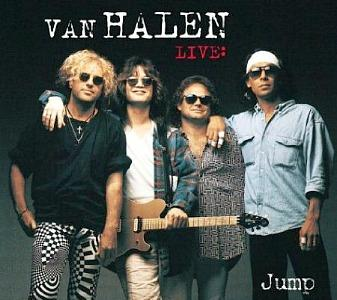 Van Halen Jump (Live) CD maxi single (1993)