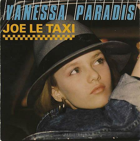 Vanessa Paradis - Joe Le Taxi (1987 vinyl French 7