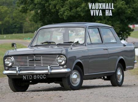 Vauxhall Viva HA series - Grey