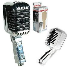 Retro Vintage Microphone Shower Head