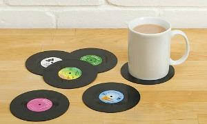 80s Drink Coasters - Mats