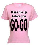 Wham! 80s Lyrics Tee for Women