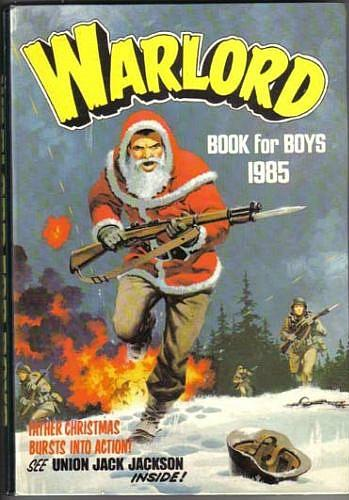 Warlord Book for Boys 1985 Annual