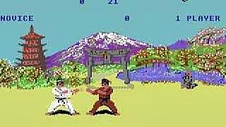 The Way Of The Exploding Fist - C64 screenshot (1985)