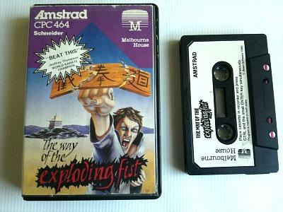 The Way Of The Exploding Fist (Melbourne House) Amstrad CPC 464 cassette