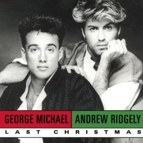 Wham! Last Christmas - Vinyl Sleeve ft. Andrew Ridgeley and George Michael