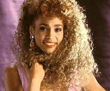 Whitney Houston's Spiral Perm in 1987