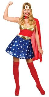 Super Hero Costume for Women by Wicked Costumes