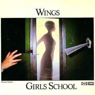 Wings - Girls School - vinyl sleeve