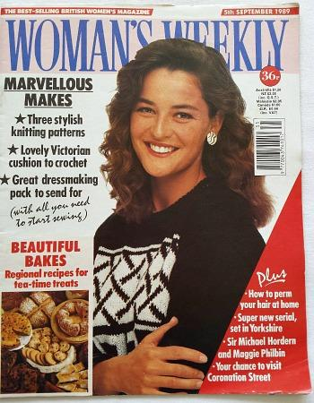 80s Woman's Weekly - 5th Sept 1989