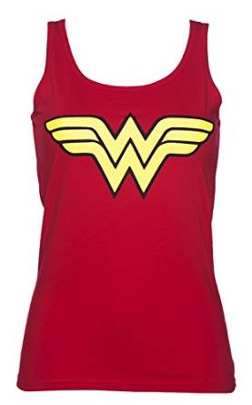 Wonder Woman Logo Vest Top Women's