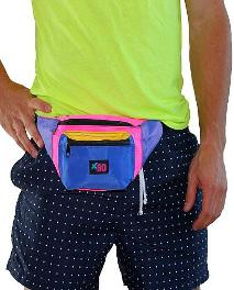 80s and Neon Fanny Packs - Belt Bags