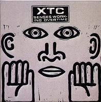 XTC - Senses Working Overtime vinyl cover
