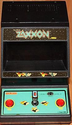 Sega Coleco Zaxxon - table top mini arcade game (1982)