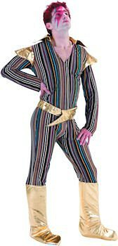 Ziggy Stardust fancy dress costume