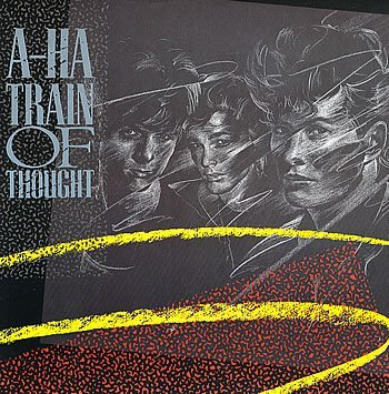 a-ha Train Of Thought (vinyl sleeve)