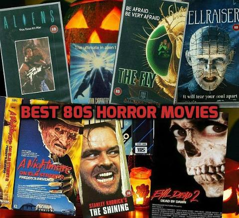 Best 80s Horror Movies VHS Montage