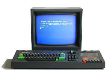 Amstrad CPC464 with Monitor