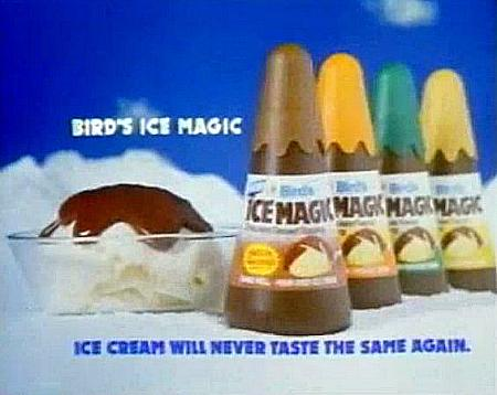 Bird's Ice Magic Advert