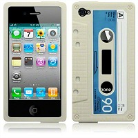 cassette cover for iphone 4