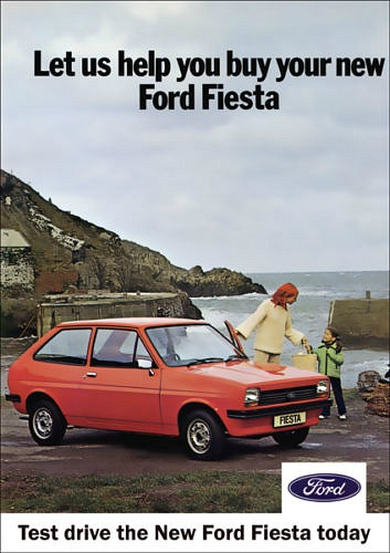 Ford Fiesta Mk1 advert from the 1980s