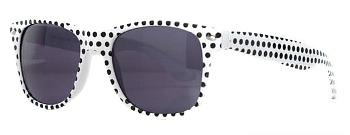 Polka dot wayfarer sunglasses