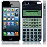 retro calculator iphone cover