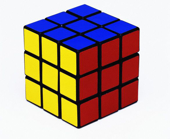 Rubik's Cube 80s Puzzle Toy