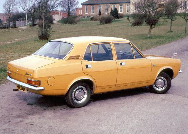 1973 Morris Marina 4 door saloon