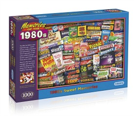 Memories of the 1980s Sweets Puzzle by Gibsons