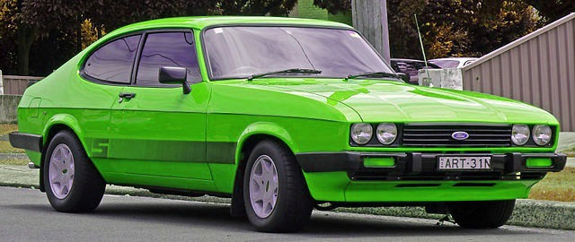 Lime Green 1983 Mkiii Ford Capri S