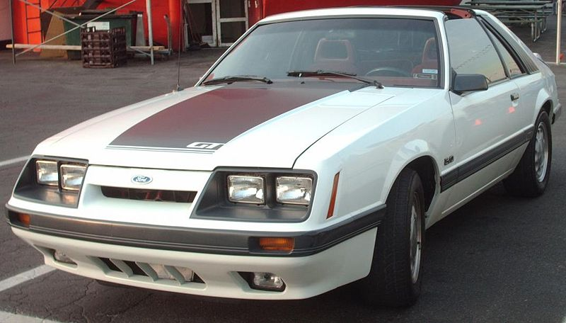 Ford Mustang GT (1985-86) public domain image