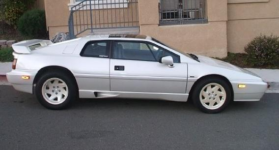 1988 Silver Lotus Esprit Turbo S3