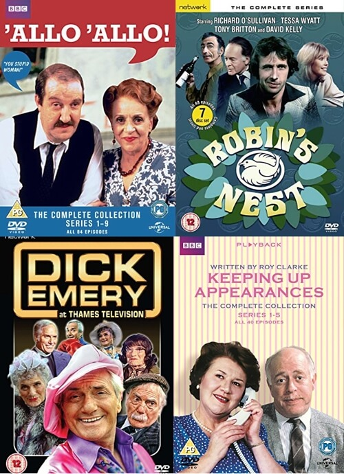 OCT 24 - CLASSIC BRITISH COMEDY - Treat someone to a DVD boxset this Christmas.