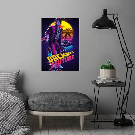 JUL 17 2019 - BACK TO THE FUTURE artwork. Stunning posters and prints to enhance your favourite room.