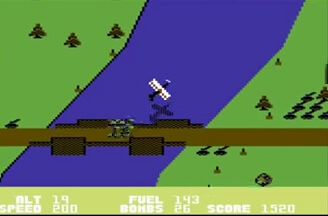 Blue Max C64 Screenshot
