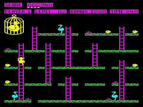Chuckie Egg BBC Micro screenshot