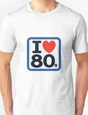 Classic I Heart 80s Unisex T-shirt by Redbubble