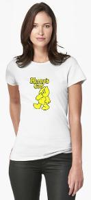 Henry's Cat T-shirt for Women - many colours