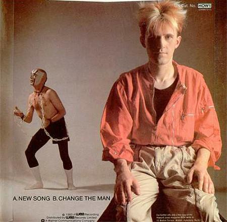 Howard Jones New Song single sleeve rear 1983