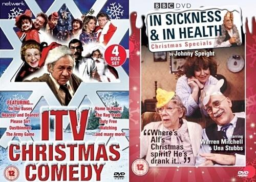 Christmas Comedy DVDs - lots of classics from the 70s and 80s