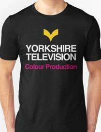 Yorkshire Television Retro TV Ident T Shirt