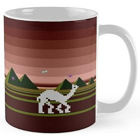 Attack of the Mutant Camels Atari Mug