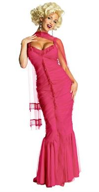 Madonna Marilyn Monroe Pink Dress Costume