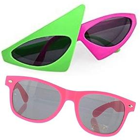 Neon 80s Sunglasses